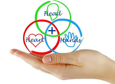 Head, Heart, Hand: The way of education