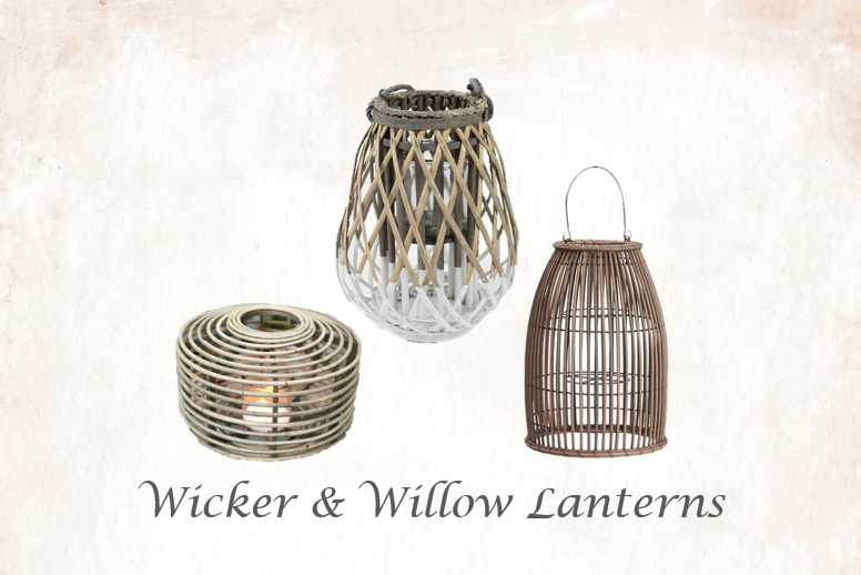 Wicker & Willow Lanterns