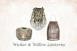 Wicker & Willow Lanterns