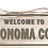 """Thumbnail: Rustic """"Welcome To"""" Wood Sign 12"""" x 5 1/2"""" x 1/4"""""""