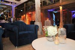 Blue Velvet Club Chairs