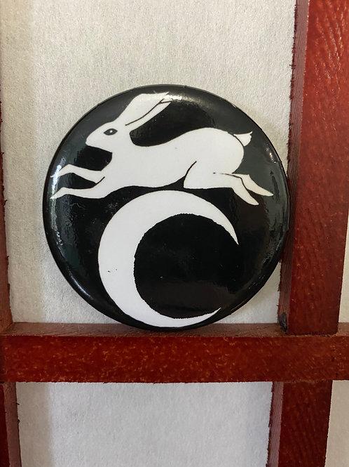 Rabbit Button by Kiah