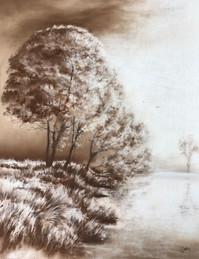 Sepia Landscape - Sold