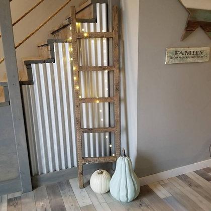 Rustic Barn Wood Ladder