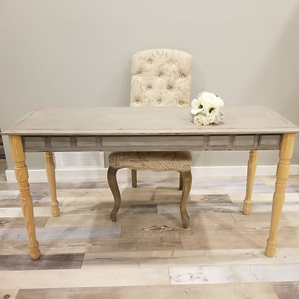 Wooden Signing Table
