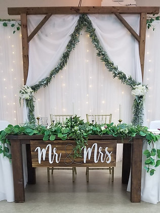 Wooden 4X4 Ceremony Arch