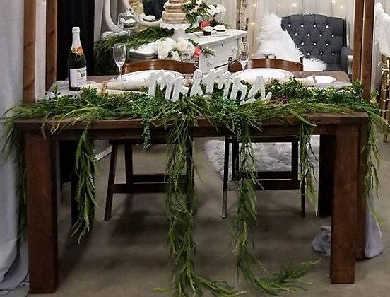 Farmhouse Wood Table