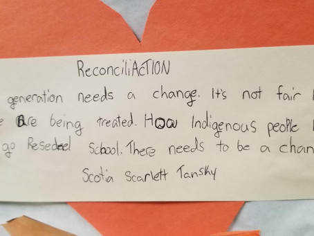 A Walk for Reconciliation