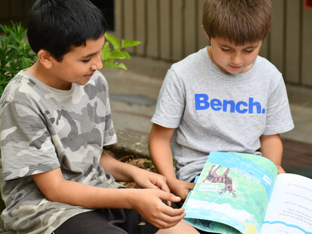 A Comox Valley Educator teaches Students to Honor Indigenous Language Through Art in a Pictures Book