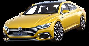 PNGPIX-COM-Volkswagen-Sport-Coupe-GTE-Ye