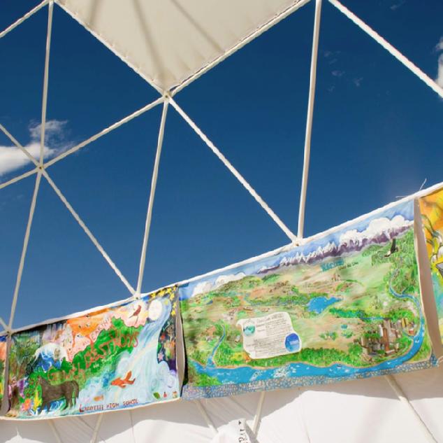 Environmental Mile at Burning Man