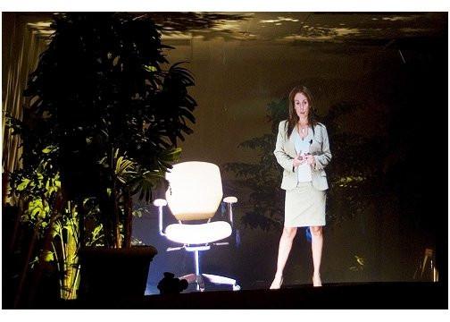 Patty Rangel Live Hologram