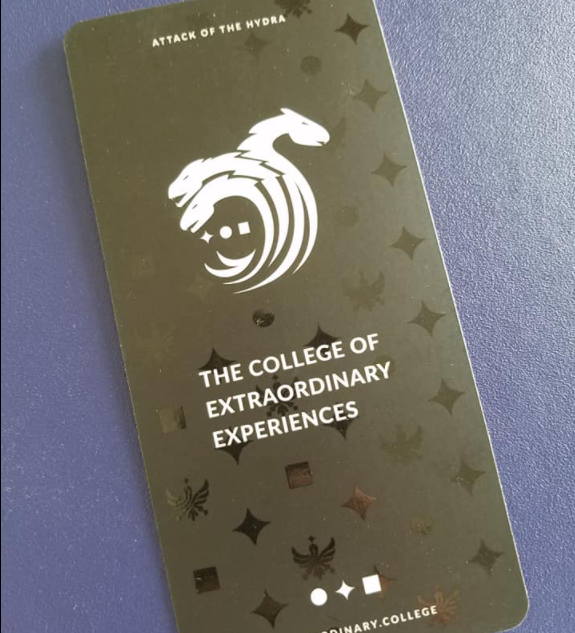 Extraordinary College Card
