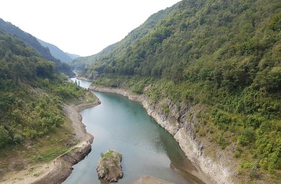 Toward Lago d'Idro