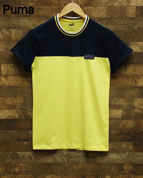 Dual tone T-shirt