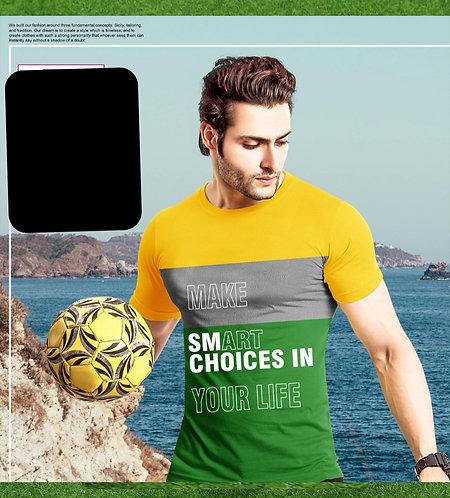 Man T-shirt smart