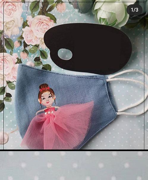Designer mask doll