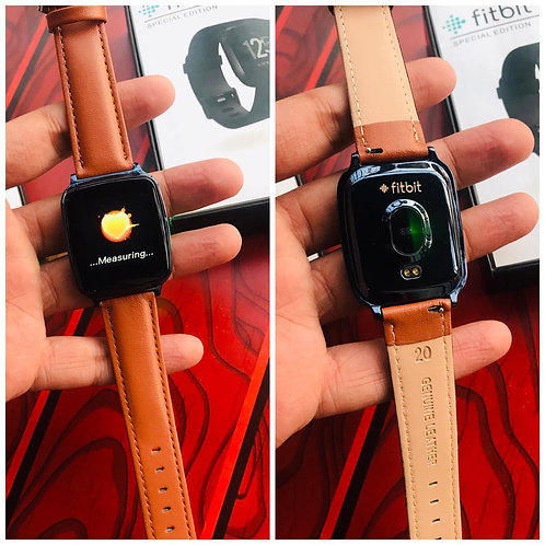 FitBit Leather Watch