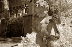 Cherub in the Garden