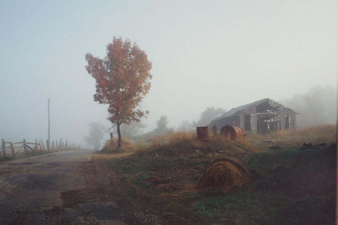 Old Barn Scene