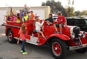 Kids Fire Truck Ride