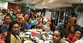 Women lit up Annual Dinner in style