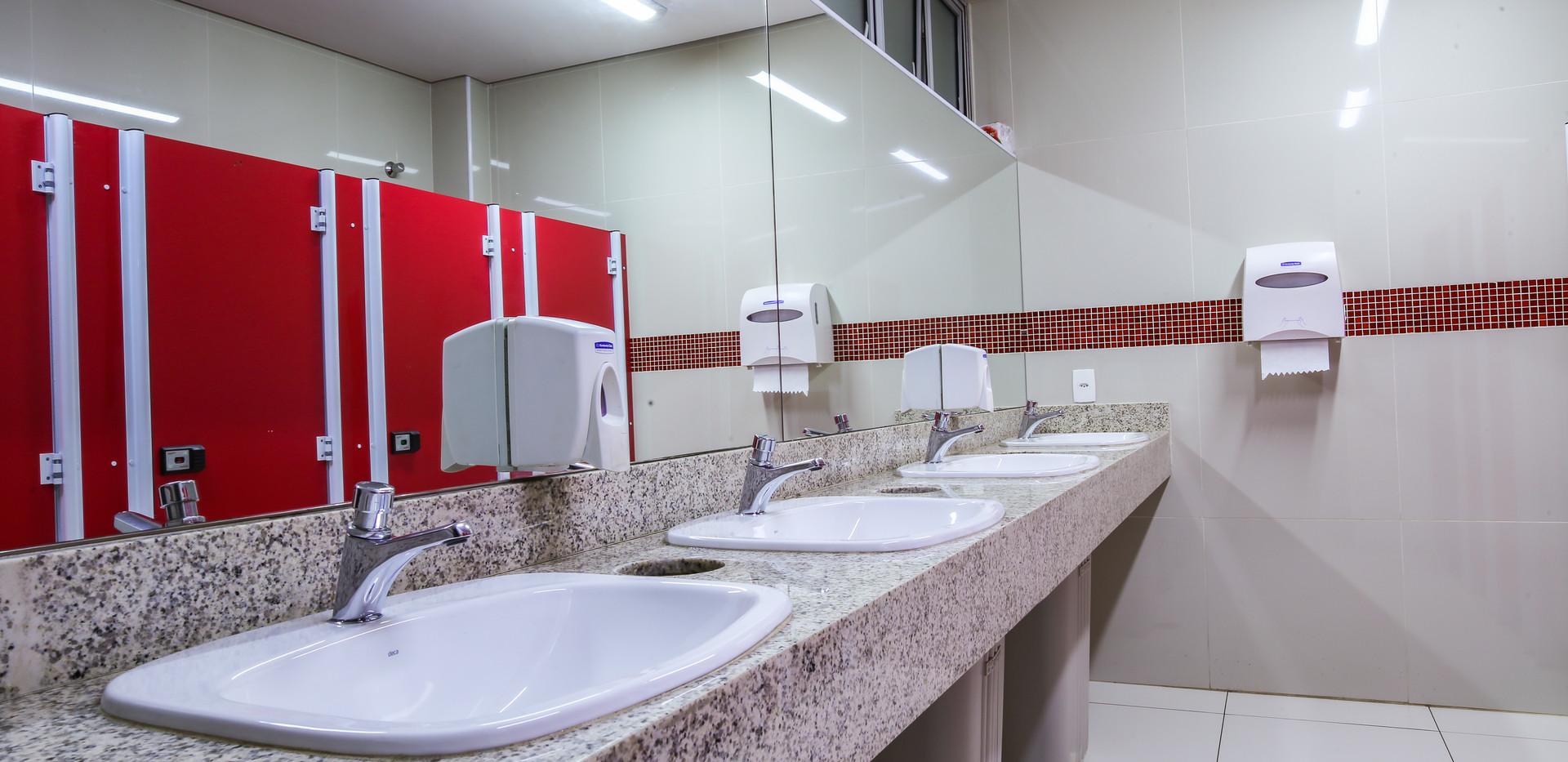 Graded School - Reforma dos Banheiros