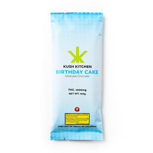 Kush Kitchen Birthday Cake Bar 1000mg THC
