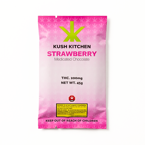 Kush Kitchen Strawberry & Cream Bar 200mg