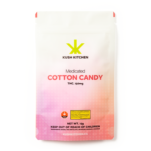 Kush Kitchen Cotton Candy 150 MG