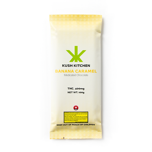 Kush Kitchen Banana & Caramel 400 MG