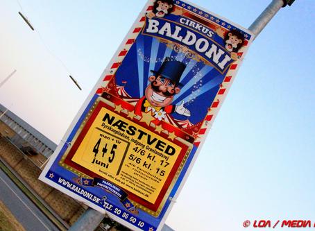 Cirkus Baldoni er kommet til byen med Danish Dynamite