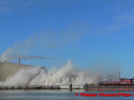 Sprængning af silo i Vordingborg gik helt skævt