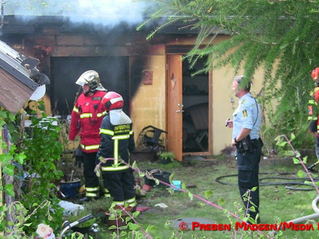 En person indebrændt i ejendom i Brandelev ved Næstved