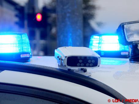 Ulovlig knallert blev konfiskeret i Faxe Ladeplads