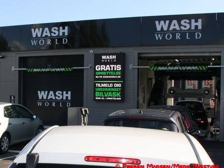 Kunder snyder sig til bilvask hos WashWorld