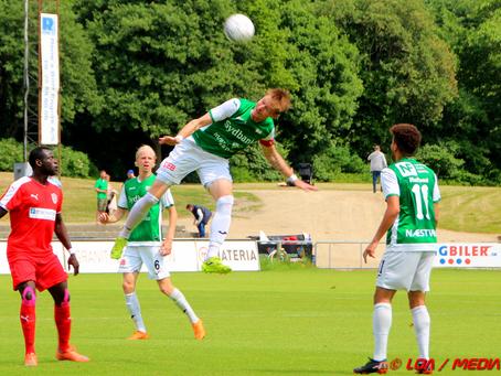 Næstved vandt oprykning til 1. division - 4-0 over Middelfart