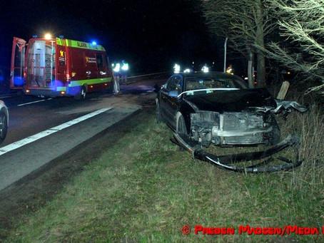 Nyt færdselsuheld på Præstø Landevej mellem Mogenstrup og Næstved