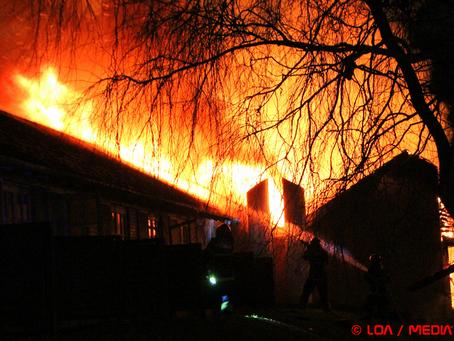 Status: Branden i Mogenstrup Kro