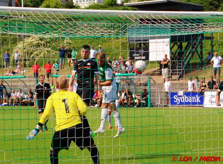 Næstveds sidste kamp i 2. division endte 1-1