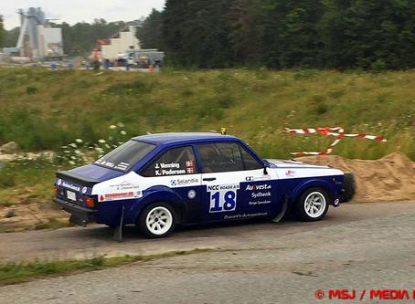 Succes for lokale rally teams ved Komo Rallysprint