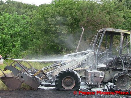 Rendegraver udbrændte ved Avnø Naturcenter