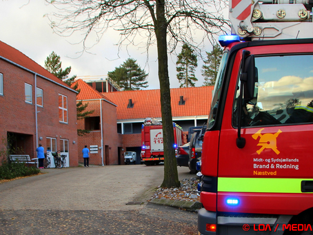 Madlavning udløste to brandalarmer lørdag eftermiddag