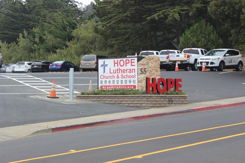 Hope Lutheran Entrance