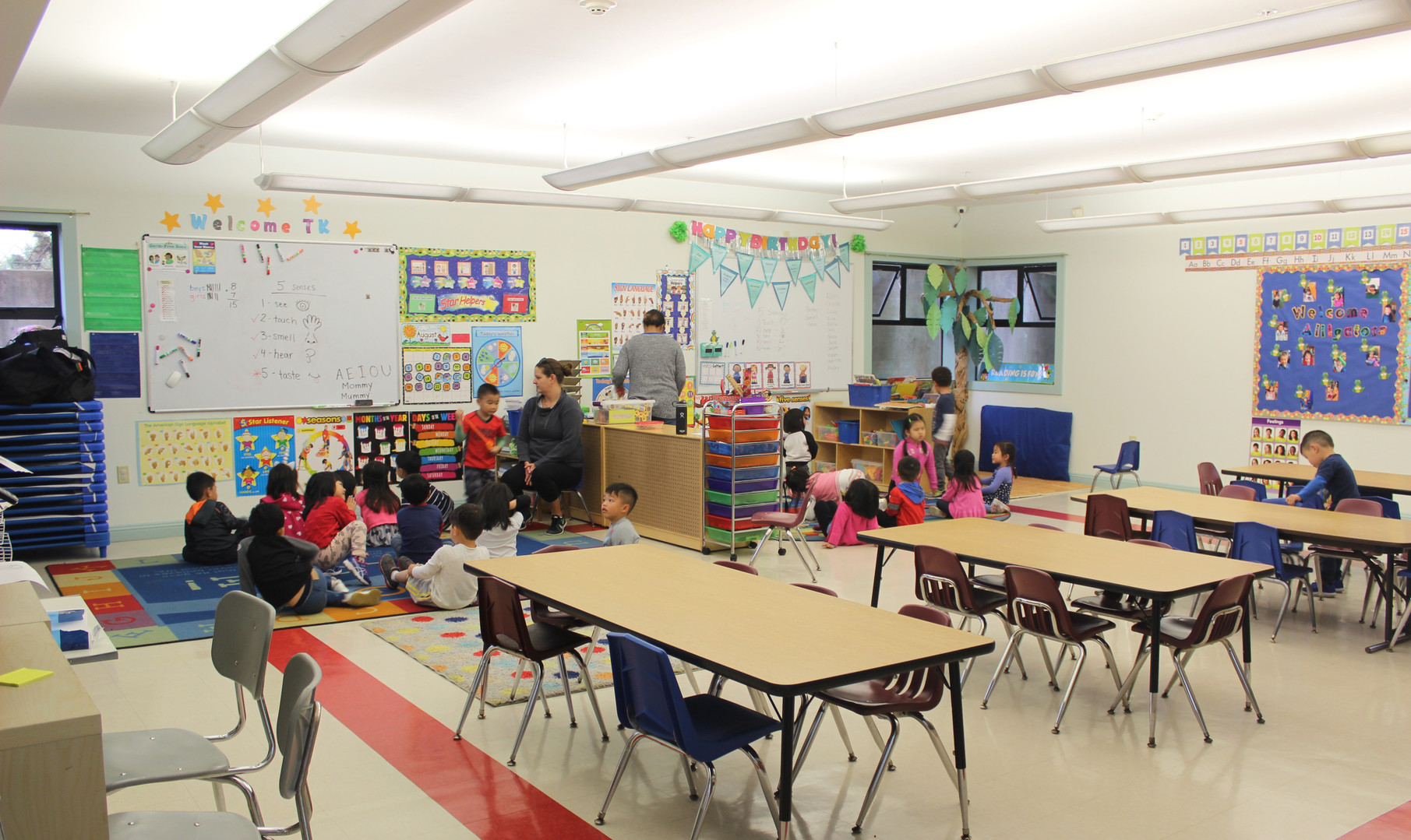 PreK/TK Classroom