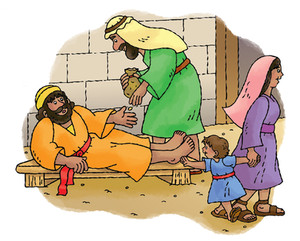 A Lame Man Walks - Bible Story Time with Ms Cynthia