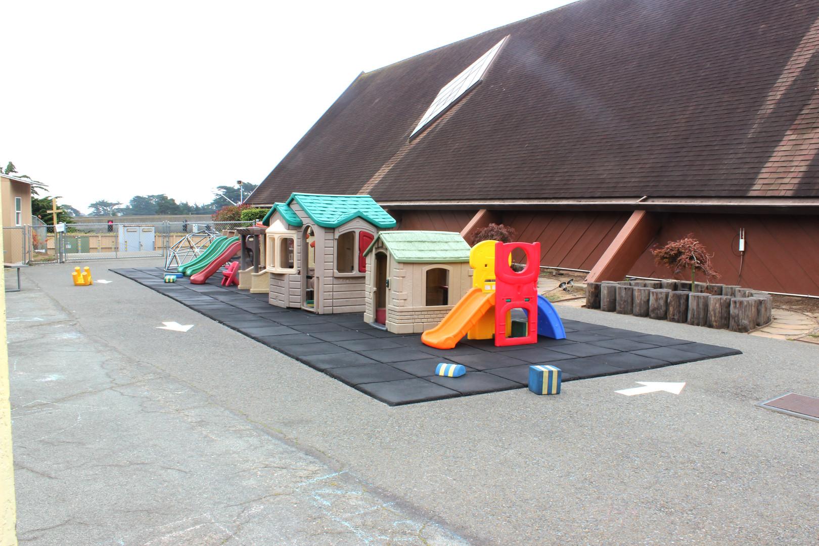 Yellow Building Playground