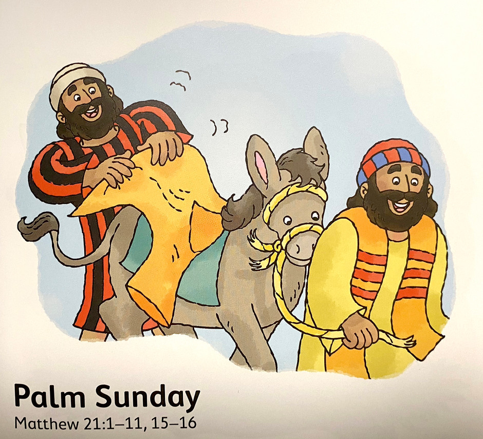 Palm Sunday - Bible Story Time with Ms Cynthia