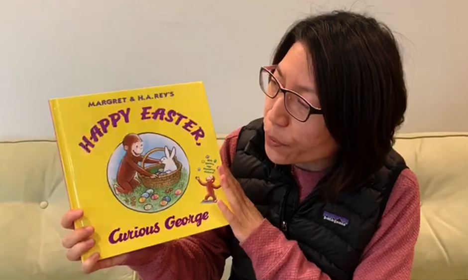 Happy Easter, Curious George