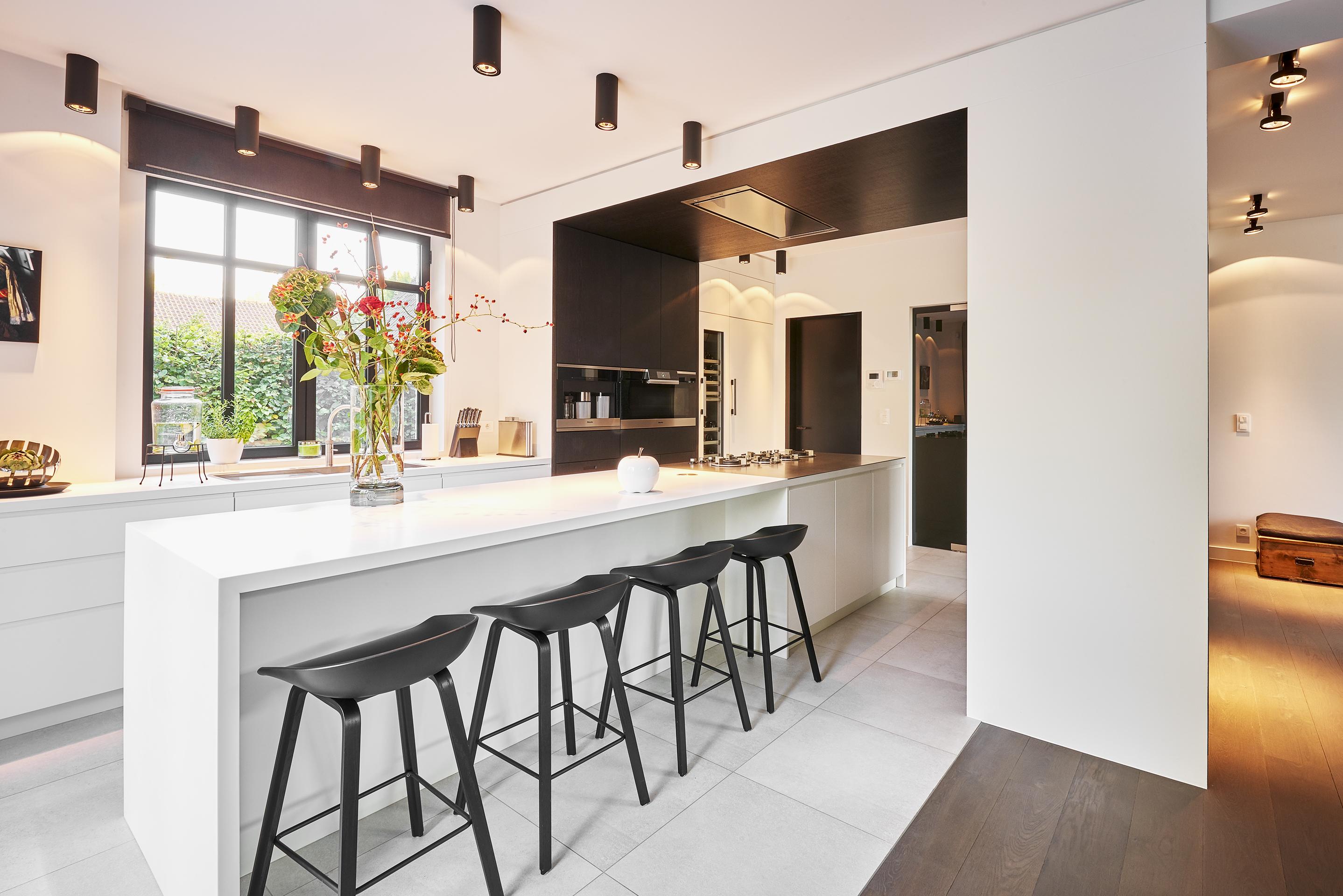 open kitchen, leefkeuken